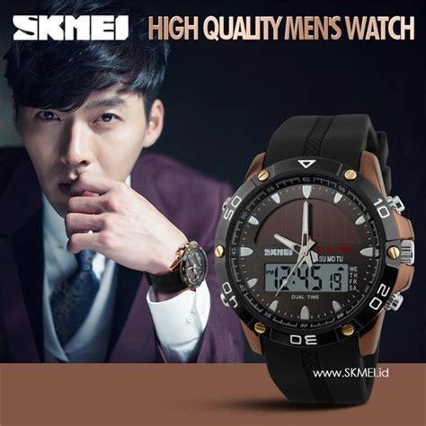 Promo Jam Tangan Wanita Original Skmei 1223 Anti Air 30m Gol jual jam tangan skmei original tenaga matahari emas anti air canggih mewah di lapak jamkita17