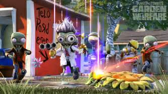 plants vs zombies garden warfare trailer boasts