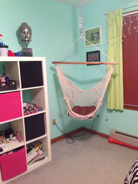 hanging chair in bedroom hanging hammock chair for bedroom beds pinterest