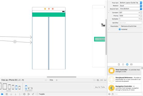 autolayout remove height constraint ios how to give different constraint in same size class