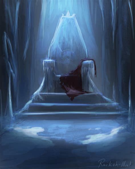 frozen throne by raikoh illust on deviantart