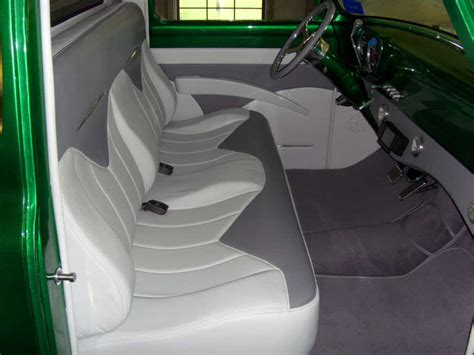 1955 ford f100 bench seat pictures of your interior 53 56 ford truck enthusiasts