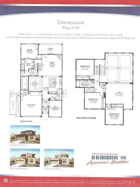 Distinctive Homes Las Vegas Floor Plans - dr horton homes floor plans