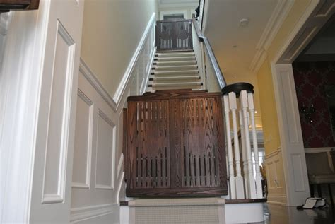 hand made stair gates by hollow tree custommade com