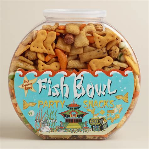 To Market Bowl Snacks fish bowl snacks world market
