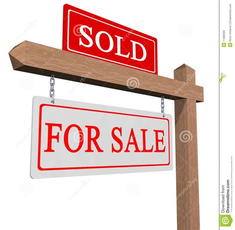 Real Pict Sale Maxy for sale and sold sign stock image image of sign