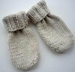 knitting pattern mittens 1 year old little baby mittens allfreeknitting com
