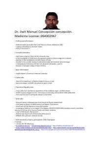 Curriculum Vitae Sample curriculum vitae english