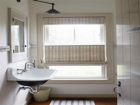 blinds for small bathroom windows 5 basic bathroom window treatments midcityeast