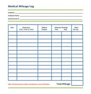 mileage expense template mileage log template 14 free documents in pdf doc