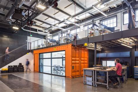 Two Story House Floor Plans autodesk robotics lab brainstorms in a shipping container