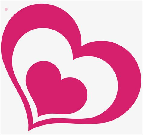 love shape pattern vector pink love vector diagram pink pattern heart shape png