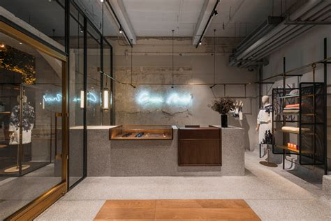 designboom retail neri hu outfits flagship store for comme moi in shanghai