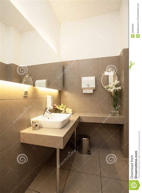 luxury toilet interior stock photo image  faucet