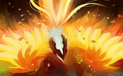wallpaper dota 2 phoenix icarus the phoenix dota 2 wallpapers