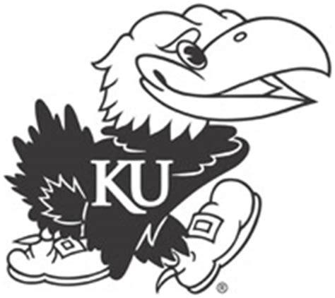 K U Jayhawk Coloring Page Clipart Best Ku Coloring Pages