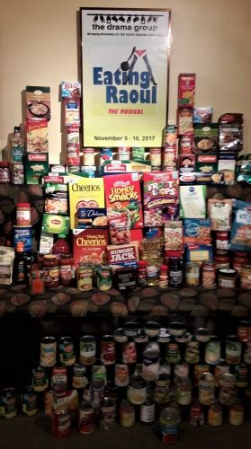 Forest Park Food Pantry by The Drama Group S Raoul Feeds Local Food Pantry