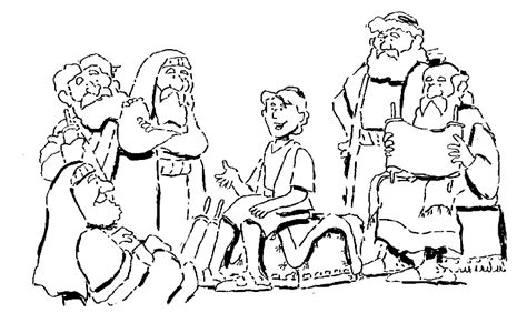 coloring pages boy jesus in the temple finding in the temple finding jesus in the temple