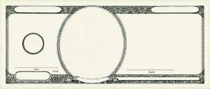 make your own printable fake money best photos of template of dollar bills blank dollar