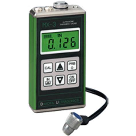 Matrix Db Meter Mx 102 dakota mx 3 ultrasonic thickness mitchell