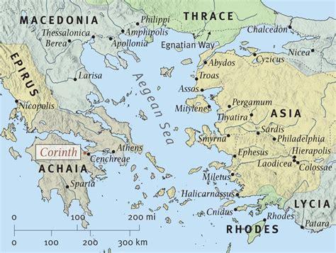 map of corinth 1 corinthians nate navigates the bible