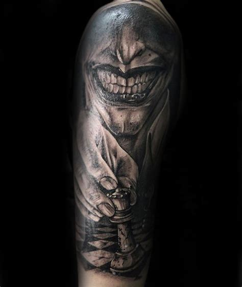 joker king tattoo 60 king chess piece tattoo designs for men powerful ink