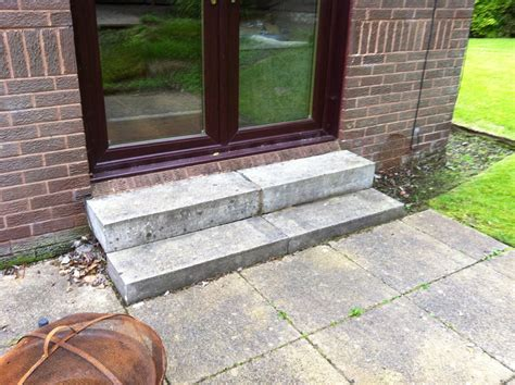 brickwork services rear patio steps stewartfield