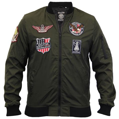 Jaket Harrington Jaket Taslan Parka Jaket Bomber Cewek Wanita Army mens badge jacket soul ma1 harrington coat baseball bomber casual winter ebay