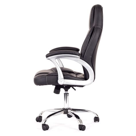 Office Chairs Designed For Sitting My Sit Office Chair Venecia Faux Leather In Black Office