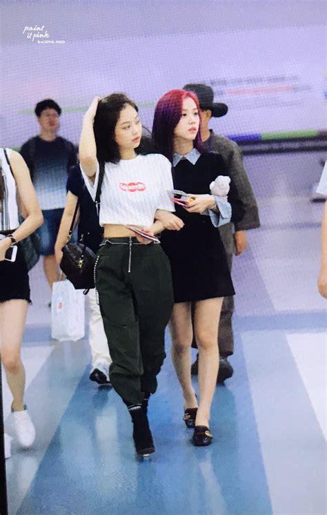 blackpink fashion airport blackpink s airport fashion allkpop forums