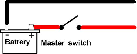 battery master switch wiring diagram battery isolator