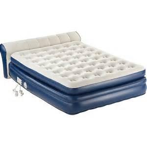 mattresses at walmart coleman aerobed air matress wth headboard walmart