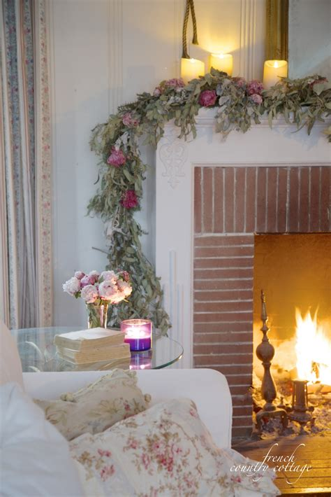 country christmas mantel decorating ideas simple winter mantel country cottage