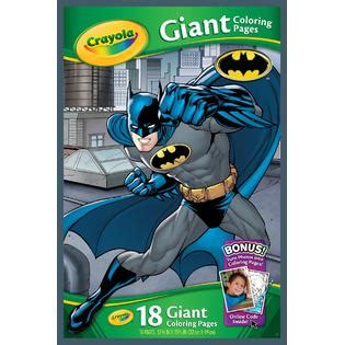 crayola giant coloring pages batman crayola marvel batman giant coloring pages