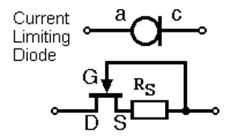 current limiting diode digikey circuit symbols