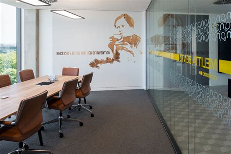 design interactive environment environmental graphic design linkedin s emea hq office