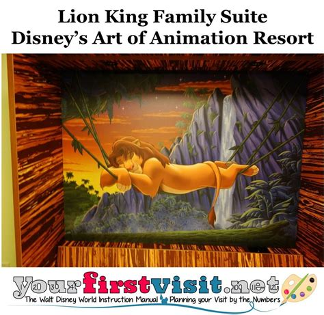Art Of Animation Resort Family Suite Floor Plan by Photo Tour Of A Lion King Suite At Disney S Art Of