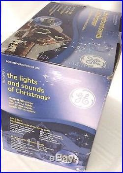 new ge pro line lights and sounds of christmas made by mr