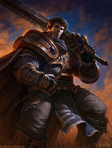 Garen Website League Of Legends Garen By Fayson1337 On Deviantart