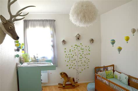deco pour chambre bebe d 233 co chambre b 233 b 233 la chambre nature et po 233 tique de noah