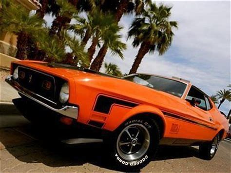 sell used 1972 ford mustang mach 1 marti report 351 ram
