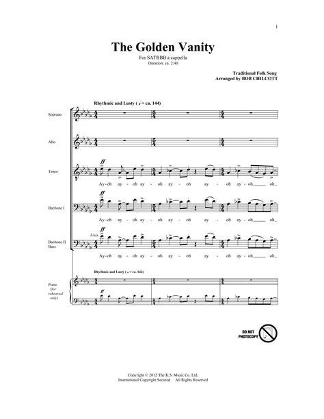 Golden Vanity Lyrics by The Golden Vanity Sheet Direct