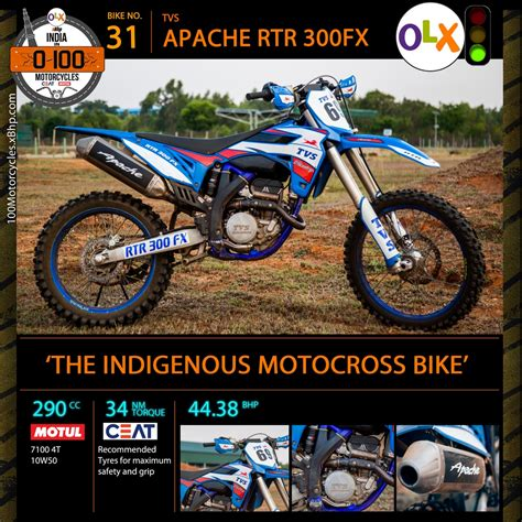 Bike 31 Tvs Rtr 300 Fx The Indigenous Motocross Bike