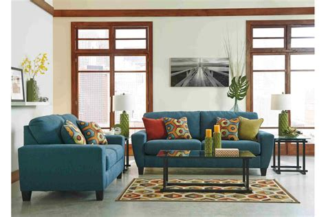 Teal Living Room Furniture Living Room Sets Sagen Teal Living Room Set Newlotsfurniture