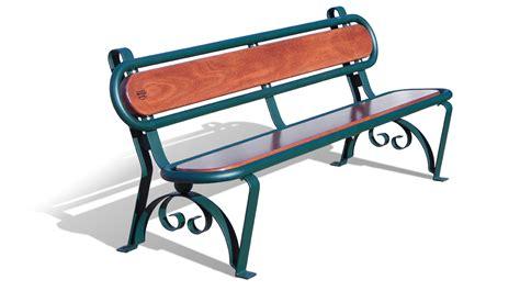 in arredo panchina per arredo urbano modello carinzia