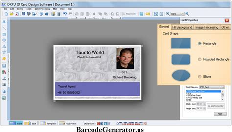 id card design software names id card maker software design student employee identity
