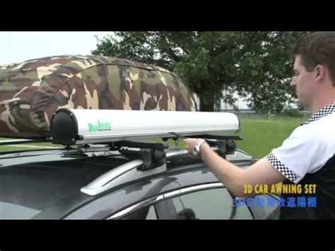 awning for cer 3d car awning youtube
