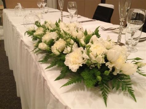 Wedding Flowers Table Arrangement by Flower Arrangements For Tables White Wedding Table Flower