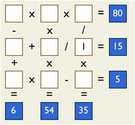 imagenes de juegos mentales con numeros juegos numeros y algo mas