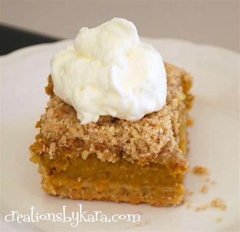fast  easy pumpkin dessert